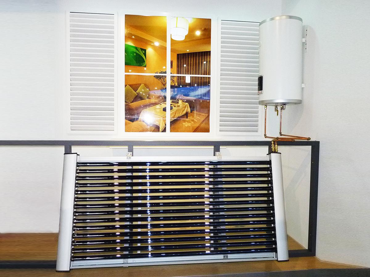 Балконный водонагреватель на солнечной энергии